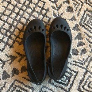 Crocs Black Sling Back